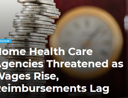 Home Health Care Agencies Threatened as Wages Rise, Reimbursements Lag