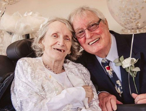Woman, 72, weds boyfriend, 74 after 43 years
